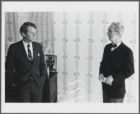 Reference photo for Portrait of Robert F. Kennedy, c. 1968. Norman Rockwell Museum Collections. All rights reserved.