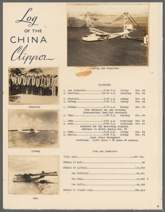 China Clipper_Log Record